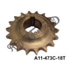 INTERNATIONAL ENGINE SPROCKET 18 TOOTH CENTRAL FEATHERBED