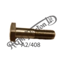 "1/4"" - 26 TPI BSF (BSC) X 1"" U.H. GENERIC HEX HEAD STAINLESS BOLT"