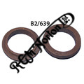 RUBBER SUPPORT RING FOR ALLOY HEADLAMP BRACKETS (PR)