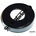 STEERING HEAD BEARING COVER EPOXY COATED BLACK, PRE FEATHERBED