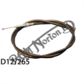 """CLUTCH CABLE 50 3/4"""" OUTER, DOMINATOR / ES2 (LAYDOWN ETC 5/16 BSC ADJUSTER)"""