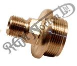 """OIL TANK FEED UNION/FILTER 1/4"""" B.S.P. OUTLET"""