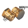 FORK ALLOY STANCHION TOP NUTS UNF (PAIR)