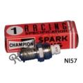 CHAMPION N157 PLATINUM RACE SPARK PLUG 14MM ANGLED LONG REACH