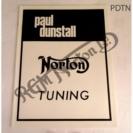DUNSTALL TUNING NOTES