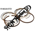 EARLY 750 (PRE 1970) & POWER MAX PISTON RING SET, NARROW OIL RING STANDARD