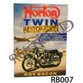 ROY BACON NORTON TWIN RESTORATION BOOK