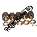 BARREL BASE NUTS & WASHERS, 850