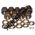 BARREL BASE NUTS & WASHERS, UNF, 750, 750 COMBAT