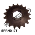 "AMC GEARBOX SPROCKET 17 TEETH 5/8"" X 1/4"""
