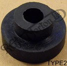 STEPPED/TOP HAT TANK AND HANDLEBAR MOUNTING RUBBER