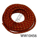 CLOTH COVERED COPPER CORED HT LEAD RED/YELLOW (FT)