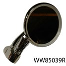 BAR END MIRROR WITH ROUND HEAD