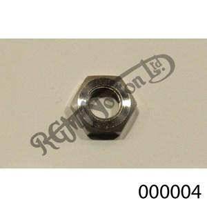 """5/16"""" - 26 TPI BSC LOCK NUT, THIN, STAINLESS"""
