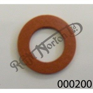 """3/8"""" (10MM) RED FIBRE WASHER"""