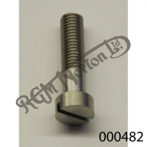 """1 1/16"""" X 1/4"""" 26 TPI STAINLESS SLOTTED CHEESE HEAD SCREW"""