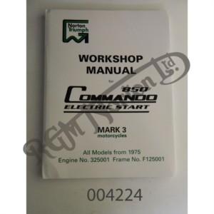 850 MK3 FACTORY WORKSHOP MANUAL