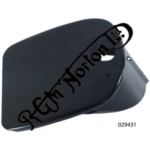 REAR NUMBER PLATE MOUNT, ENCLOSED TYPE, FEATHERBED ETC.