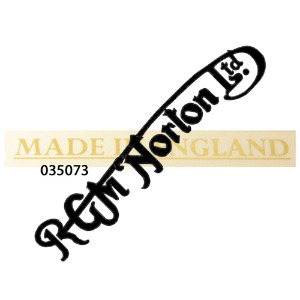 MADE IN ENGLAND GOLD STICKER