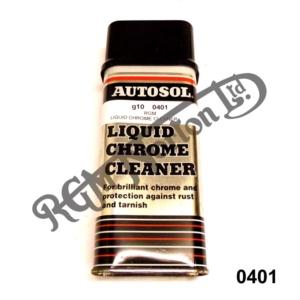 AUTOSOL LIQUID CHROME METAL POLISH 250ML