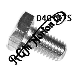 "STAINLESS STEEL GEARBOX LEVEL AND INDICATOR HEX SCREW 1/4"" BSF"