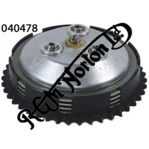 PRE 1964 COMPLETE CLUTCH, HOLDS 9 PLATES, LIGHTER THAN 050423