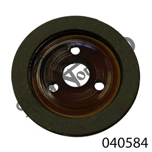 DOMINATOR CLUTCH BACKING PLATE, FRICTION TYPE