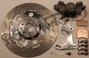 UPRATE FRONT BRAKE DISC KIT WITHOUT LEVER OR HOSE