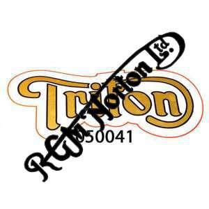 TRITON TANK DECALS, GOLD/BLACK (PR)