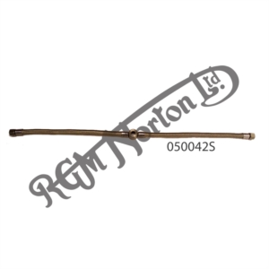 SINGLE CONCENTRIC TWIN TAP FUEL LINE ASSEMBLY (STAINLESS STEEL)
