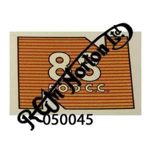 REAR MUDGUARD TRANSFER 88 500
