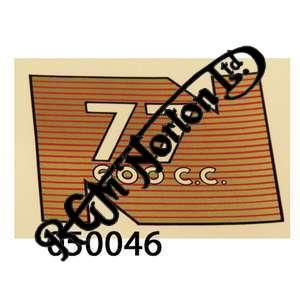 REAR MUDGUARD TRANSFER 77 600