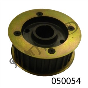 ALLOY BELT DRIVE PULLEY 28 TEETH 32MM WIDE NORTON OHV RACING SINGLES