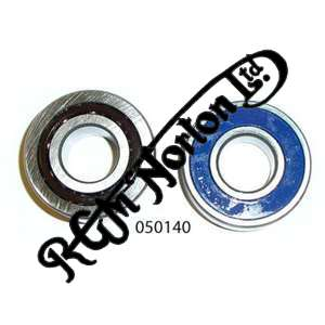 FRONT WHEEL BEARING SET (ALSO FITS ALL BOLT UP REAR WHEELS)