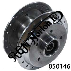 """COMMANDO DOUBLE DISC FRONT HUB, TAKES STD DISCS OR OUR 12"""" DISC, COMPLETE WITH B"""