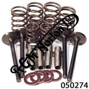 CYLINDER HEAD OVERHAUL KIT, TWINS PRE 1963