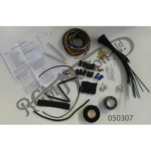 DIY WIRING LOOM KIT WITH INSTRUCTIONS & ALL BITS TO WIRE UP A MOTORCYCLE