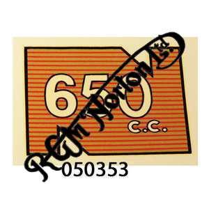REAR MUDGUARD TRANSFER 650