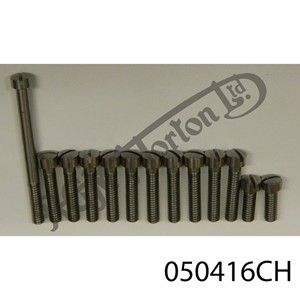 MK3 PRIMARY CHAINCASE COVER SLOTTED CHEESEHEAD SCREW SET