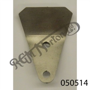STEERING LOCK STOP PLATE NO DAMPER FOR FEATHERBED FRAME