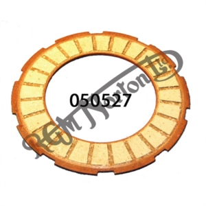 "VERY EARLY CLUTCH FRICTION PLATE, WIDE OUTER TAG 1.3"" GROOVE 1/2"""