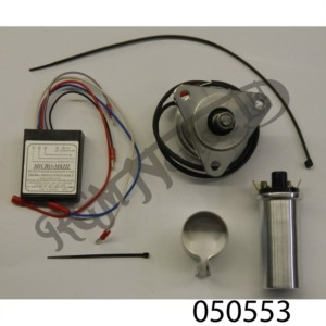 SINGLE CYLINDER MAGNETO REPLACEMENT KIT (ELECTRONIC) 6 VOLT