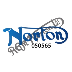 BLUE NORTON CAR STICKER