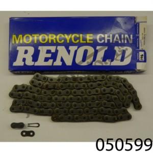 """RENOLDS 5/8"""" X 1/4"""" REAR WHEEL CHAIN, 106 LINKS"""