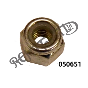 "1/4"" BSF NYLOC NUT PLATED"