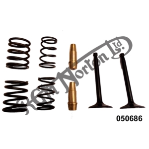 CYLINDER HEAD OVERHAUL KIT, 500 OHV SINGLE FROM 1959 (COLSIBRO)