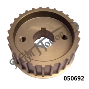 ALLOY BELT DRIVE PULLEY 27 TEETH 32MM WIDE, ALTERNATOR TWINS
