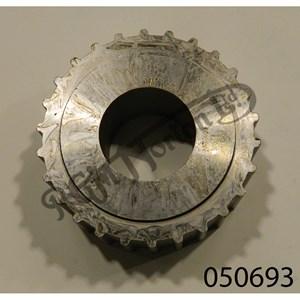 STEEL BELT DRIVE PULLEY 26 TEETH 33MM WIDE BLANK 34.5MM BORE