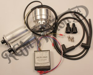 6V TWIN CYLINDER MAGNETO REPLACEMENT KIT (with 2x 6v coils)