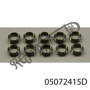"1/4"" - 19 TPI BSP WIRE INSERT FOR HELICOIL TYPE THREAD REPAIR (1.5 DIA)"